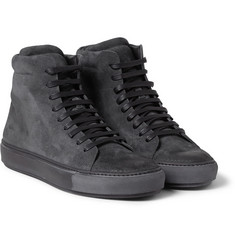 Acne Studios Adrian Suede High Top Sneakers