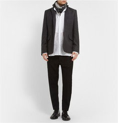 Ann Demeulemeester Printed Wool and Cashmere-Blend Blazer