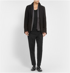Ann Demeulemeester Long-Length Ribbed-Jersey Vest