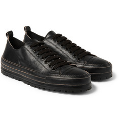 Ann Demeulemeester Low-Top Leather Sneakers