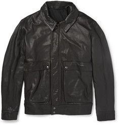 Christophe Lemaire Leather Bomber Jacket