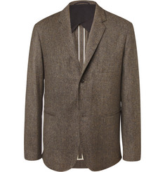 Christophe Lemaire Brown Wool-Tweed Suit Jacket