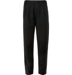 Christophe Lemaire Linen and Wool-Blend Drawstring Trousers