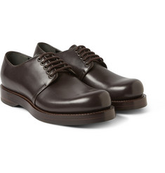 Gucci Triple-Soled Leather Derby Shoes