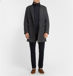 Dolce & Gabbana Knitted Cashmere and Wool-Blend Rollneck Sweater