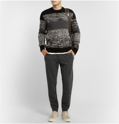 Dolce & Gabbana Knitted Wool Sweatpants