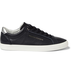 Dolce & Gabbana Leather Low Top Sneakers