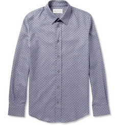 Maison Martin Margiela Slim-Fit Patterned Cotton Shirt