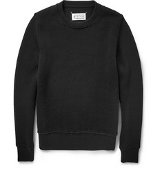Maison Martin Margiela Crew Neck Wool Sweater