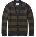 Maison Margiela - Striped Yak Wool Cardigan