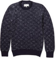 Maison Margiela - Patterned Knitted Wool and Mohair-Blend Sweater