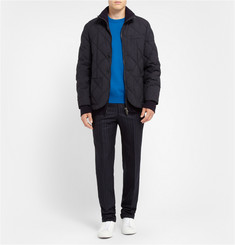 Maison Margiela Nubuck Elbow Patch Wool Sweater