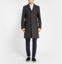 Maison Martin Margiela Tapered Pleat-Front Wool Trousers