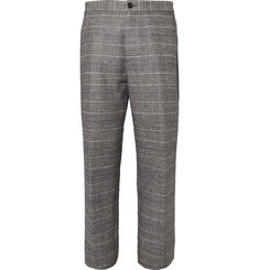 Maison Martin Margiela Check Woven Wool-Blend Trousers