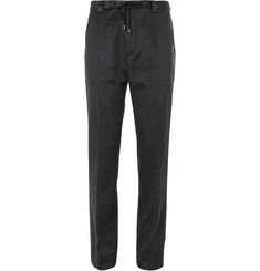 Maison Martin Margiela Regular-Fit Brushed-Cashmere Trousers