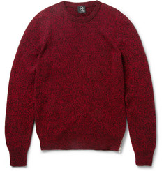 McQ Alexander McQueen Knitted Mouline-Wool Sweater