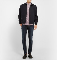 McQ Alexander McQueen Slim-Fit Check Cotton-Blend Shirt