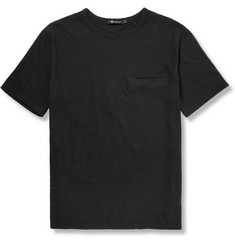 Alexander Wang Distressed Slub Cotton-Jersey T-Shirt