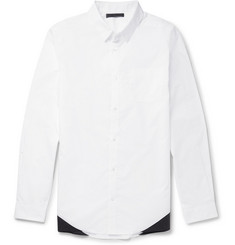 Alexander Wang Two-Tone Cotton Shirt