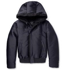 Lanvin Quilted Hooded Jacket