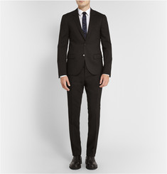 Lanvin Black Slim-Fit Wool Suit Jacket