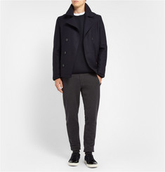 Lanvin Knitted-Wool Crew Neck Sweater