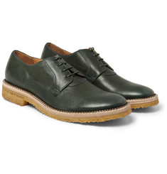 Maison Martin Margiela Crepe-Sole Leather Derby Shoes