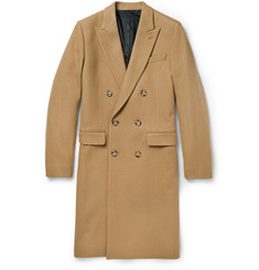 AMI Double-Breasted Wool Overcoat
