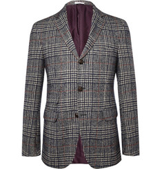 Michael Bastian Slim-Fit Check Cotton-Blend Blazer