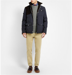 Michael Bastian Corduroy-Panelled Cotton Jacket