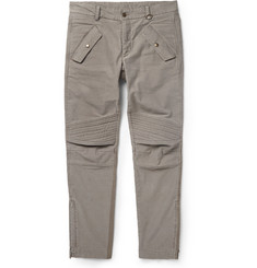 Michael Bastian Slim-Fit Biker-Style Trousers