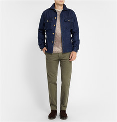 Officine Generale Indigo-Denim Jacket