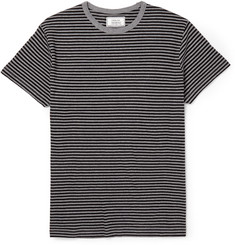 Officine Generale Striped Cotton T-Shirt