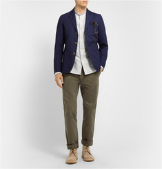 Officine Generale Regular-Fit Cotton-Twill Chinos