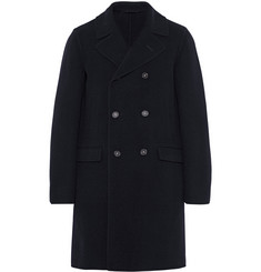 Massimo Alba Double-Faced Wool Peacoat