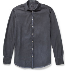 Massimo Alba Garment-Dyed Cotton Shirt