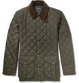 Polo Ralph Lauren - Danbury Corduroy-Collar Quilted Jacket