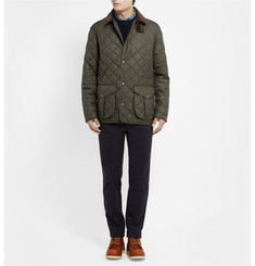 Polo Ralph Lauren Danbury Corduroy-Collar Quilted Jacket