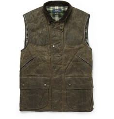Polo Ralph Lauren Monroe Waxed Leather Gilet