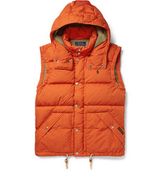 Polo Ralph Lauren Elmwood Down-Filled Quilted Hooded Gilet