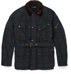 Polo Ralph Lauren Tartan Waxed-Cotton Field Jacket