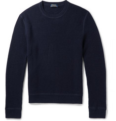 Polo Ralph Lauren Waffle-Knit Cashmere Sweater