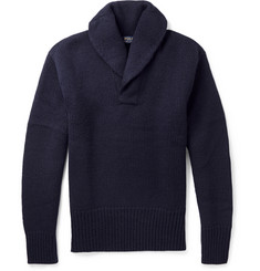 Polo Ralph Lauren Wool Shawl-Collar Sweater