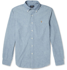Polo Ralph Lauren Slim-Fit Washed Chambray Shirt