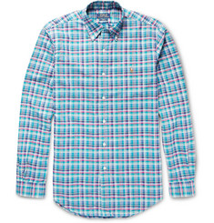 Polo Ralph Lauren Slim-Fit Check Cotton Oxford Shirt