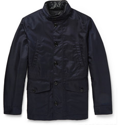 Burberry London Hooded Nylon Jacket