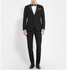 Paul Smith London Black Slim-Fit Wool Tuxedo