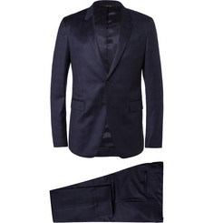 Paul Smith London Navy Kensington Slim-Fit Wool Suit