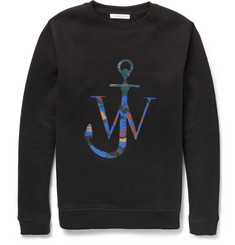 J.W.Anderson Appliquéd Cotton-Blend Jersey Sweatshirt