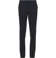 J.W.Anderson Slim-Fit Striped Wool-Blend Trousers